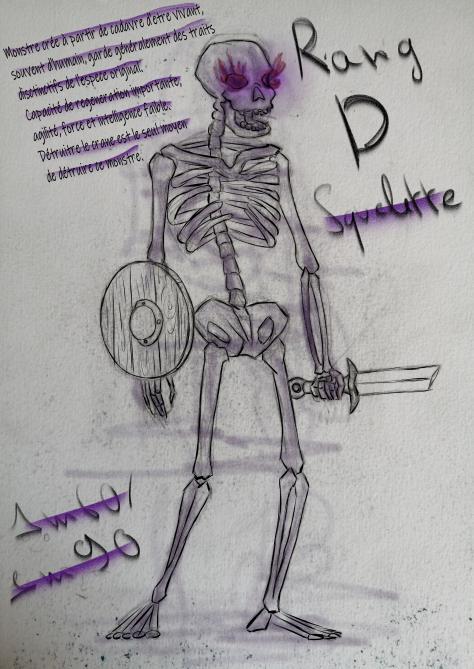 Fiche Squelette